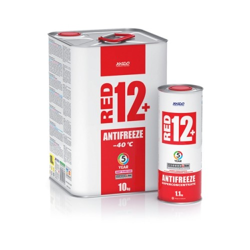 Антифриз для двигателя Antifreeze Red 12+ -40⁰С