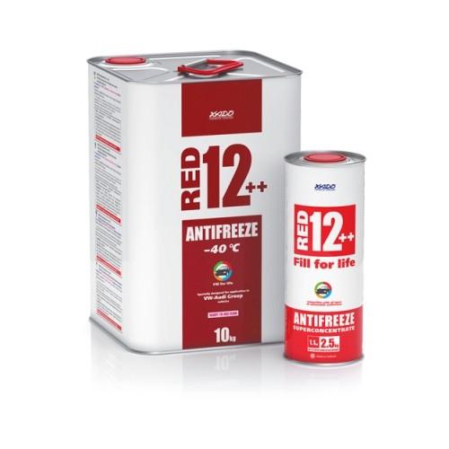 Антифриз для двигателя Antifreeze Red 12++ -40⁰С