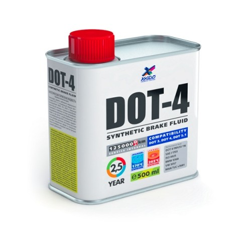 XADO Тормозная жидкость DOT-4