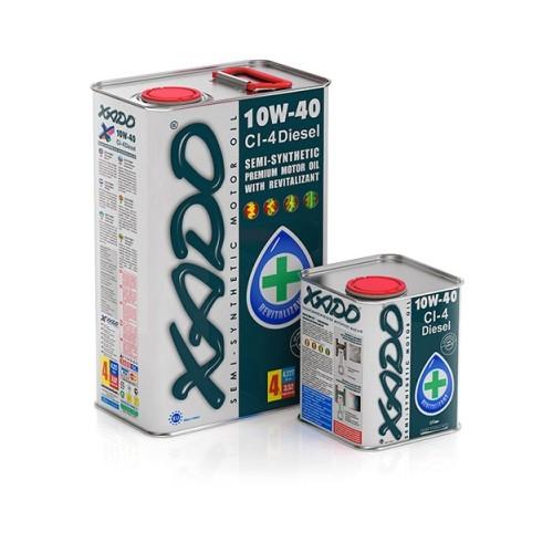XADO Atomic Oil 10W-40 CI-4 Diesel 4л.