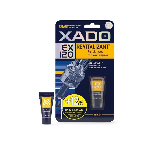 XADO Revitalizant EX120 для всех типов дизельных двигателей