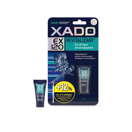 XADO Revitalizant EX120 для всех типов топливной аппаратуры и систем впрыска
