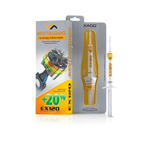 XADO Ревитализант EX120 для дизельных двигателей