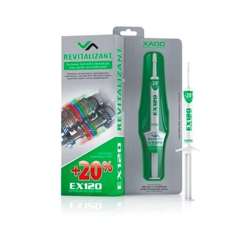 XADO Ревитализант EX120 для КПП и редукторов