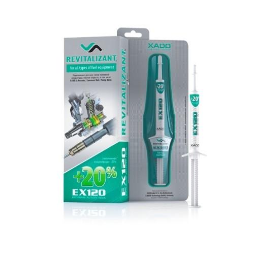 XADO Ревитализант EX120 для всех типов топливной аппаратуры