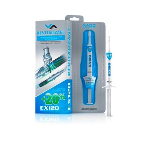 XADO Ревитализант EX120 для гидроусилителя руля и гидравлического оборудования